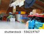 lot of stuff and clothes...   Shutterstock . vector #536219767