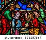 brussels  belgium   july 26 ...   Shutterstock . vector #536257567