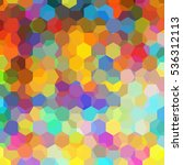 colorful abstract background... | Shutterstock . vector #536312113
