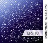 falling snow  blizzard....   Shutterstock .eps vector #536316793