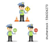 Traffic Officer Set...