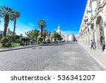 arequipa peru november 9  main... | Shutterstock . vector #536341207