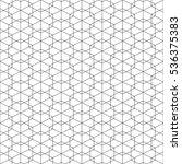 vector seamless monochrome...   Shutterstock .eps vector #536375383
