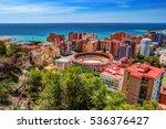 city council building in malaga.... | Shutterstock . vector #536376427