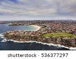 aerial view of sydney bondi... | Shutterstock . vector #536377297