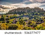 View On Acropolis From Ancient...