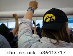 Small photo of PHILADELPHIA - July 27, 2017 - An Iowan delegate protests as Bernie Sanders delegates walked out of the Democratic National Convention during the nomination of Hillary Clinton.