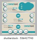 banner template. horizontal... | Shutterstock .eps vector #536417743