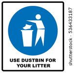 trash bin icon great for any... | Shutterstock .eps vector #536433187