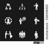 vector icons set | Shutterstock .eps vector #536448403