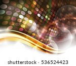 dotted composition. raster... | Shutterstock . vector #536524423