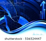 abstract composition. raster... | Shutterstock . vector #536524447
