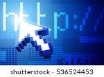 web concept. raster version. | Shutterstock . vector #536524453