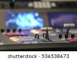 video broadcast editor watching ... | Shutterstock . vector #536538673
