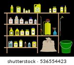 vector items for gardening ...   Shutterstock .eps vector #536554423