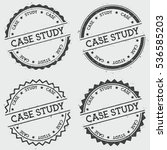 case study insignia stamp...   Shutterstock .eps vector #536585203