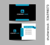 id card and business card   Shutterstock .eps vector #536598073