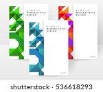 geometric background template... | Shutterstock .eps vector #536618293