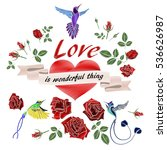 love is wonderful thing....   Shutterstock .eps vector #536626987