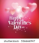 background with hearts for... | Shutterstock .eps vector #536666947