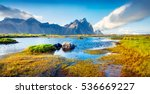 Colorful Panorama Of The...