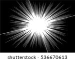 abstract radial zoom speed... | Shutterstock .eps vector #536670613