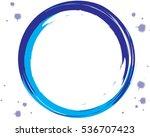 Blue Textured Frame