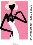 Aries Woman Horoscope Sign As ...