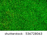 top view of green lawn | Shutterstock . vector #536728063