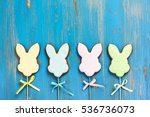 Easter Bunnies. Gingerbread...