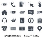 support icon solid silhouette | Shutterstock .eps vector #536744257