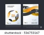 business vector set. brochure... | Shutterstock .eps vector #536753167