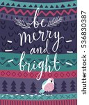 "christmas card ""be marry and... 