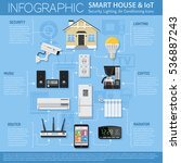 smart house and internet of... | Shutterstock .eps vector #536887243