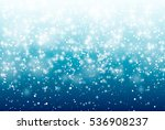falling snow on a blue... | Shutterstock .eps vector #536908237