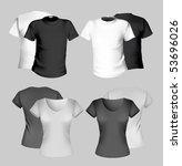 vector illustration. t shirt...   Shutterstock .eps vector #53696026