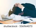 hard think on the analysis in...   Shutterstock . vector #536964073