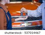Mechanic Give Car Key To...