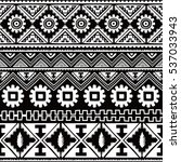 native ethnic pattern theme... | Shutterstock . vector #537033943