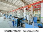 industrial injection molding... | Shutterstock . vector #537060823