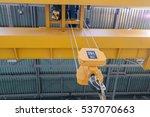 factory overhead crane   Shutterstock . vector #537070663