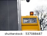 detail of headlight and grille... | Shutterstock . vector #537088687
