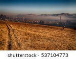 blur in south africa old town... | Shutterstock . vector #537104773
