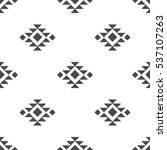 abstract vector tribal ethnic... | Shutterstock .eps vector #537107263