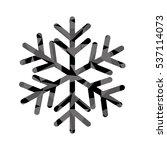 winter snowflake icon over...   Shutterstock .eps vector #537114073