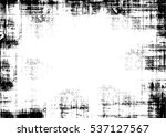 grunge black and white urban... | Shutterstock .eps vector #537127567