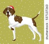 vector polygon dog collection....   Shutterstock .eps vector #537137263