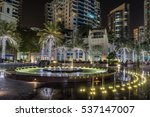 dubai marina in the uae   Shutterstock . vector #537147007