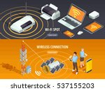 internet wireless connection 2... | Shutterstock .eps vector #537155203