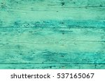 Wood Plank Fence In Green And...